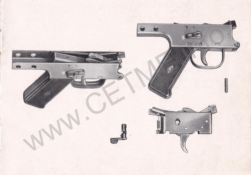 1956 - DESCRIPCION ABREVIADA DEL FUSIL DE ASALTO CETME - CETME A-2a  1956_CETME_A-2a_FORO_013