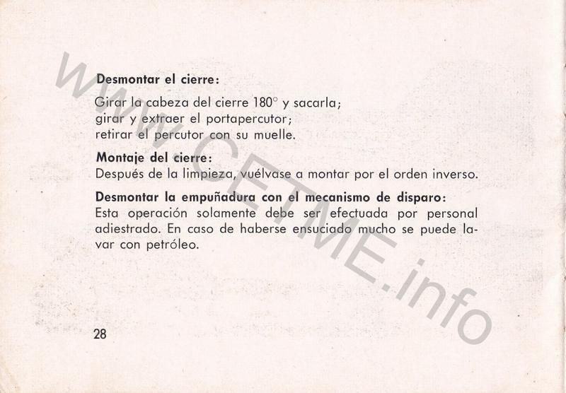1956 - DESCRIPCION ABREVIADA DEL FUSIL DE ASALTO CETME - CETME A-2a  1956_CETME_A-2a_FORO_030