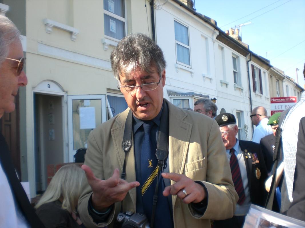 Private  William Cooper Event in Worthing Sussex CIMG3723