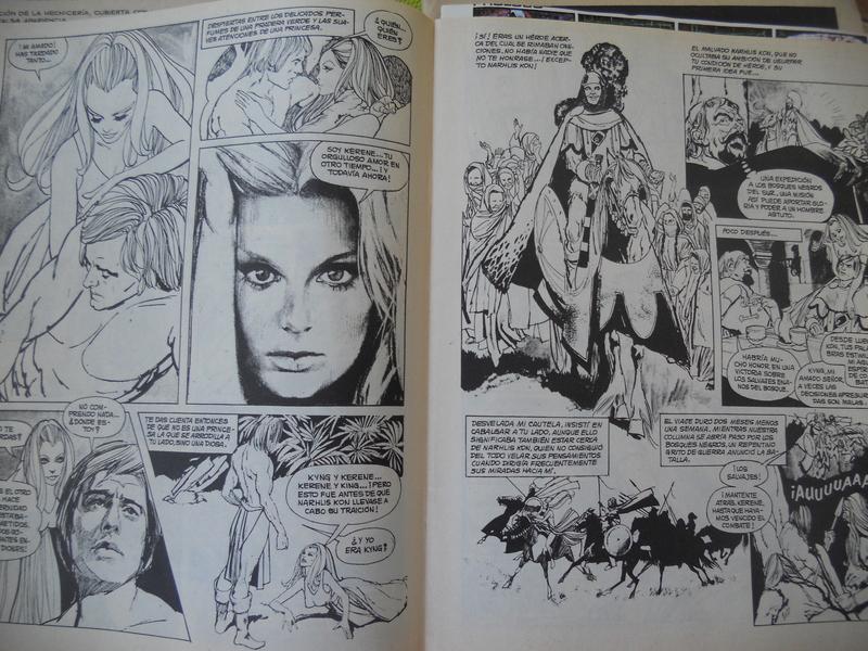los amantes del comics de terror.................... 061