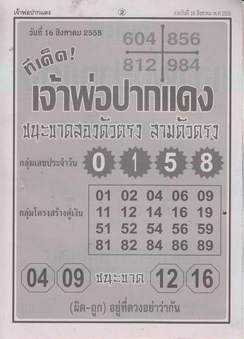 16 / 08 / 2558 MAGAZINE PAPER  Jaoporpakdang_2