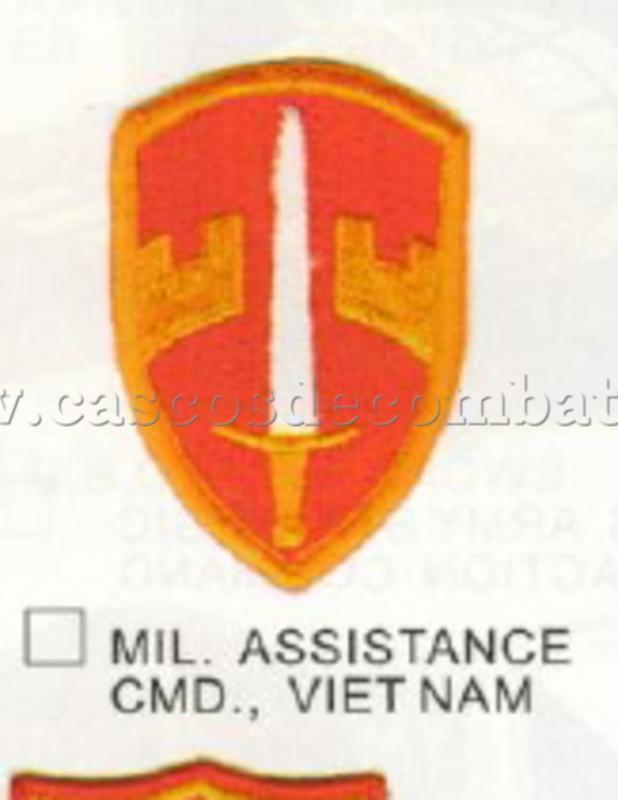 ESPAÑOLES EN VIETNAM - Historia, Cascos y Uniformes. Distintivos_y_emblemas_Military_Assistance_Command_-_Viet_Nam