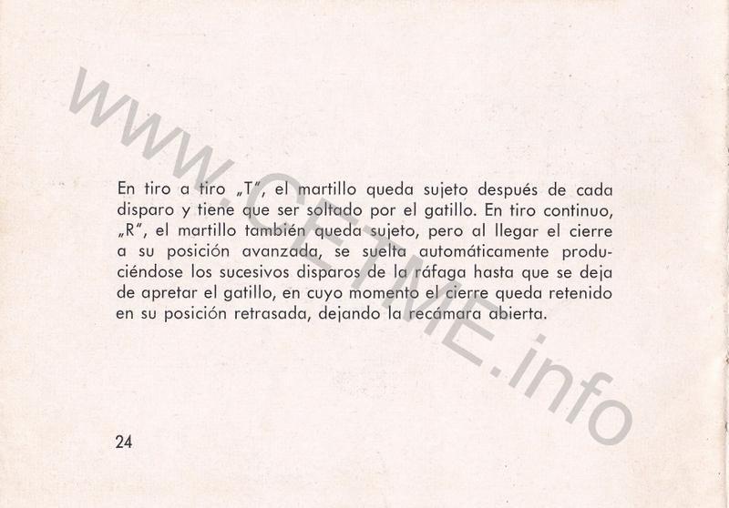 1956 - DESCRIPCION ABREVIADA DEL FUSIL DE ASALTO CETME - CETME A-2a  1956_CETME_A-2a_FORO_026