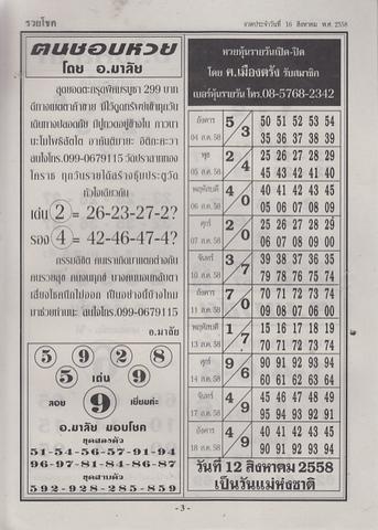 16 / 08 / 2558 MAGAZINE PAPER  - Page 3 Ruaychoke_3