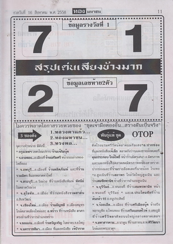16 / 08 / 2558 MAGAZINE PAPER  - Page 4 Thongmahachon_11