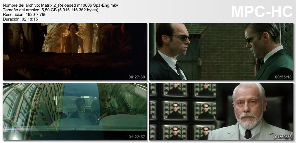 Matrix Reloaded (2003) [Ver Online] [Descargar] [HD 1080p] [Español-Inglés] [C.Ficción] Matrix_2_Reloaded_m1080p_Spa-_Eng.mkv_thumbs