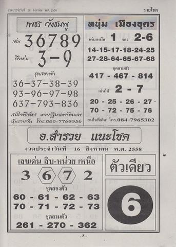 16 / 08 / 2558 MAGAZINE PAPER  - Page 3 Ruaychoke_8