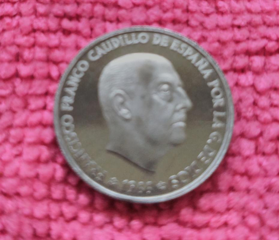 50 céntimos 1966 (*19-74). Estado Español. ARM IMG_20180730_194711