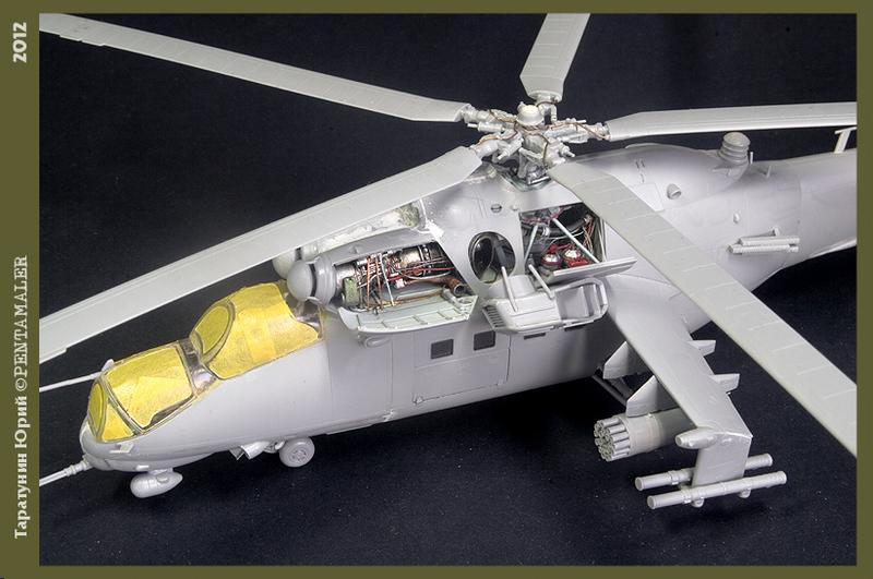 МИ-24В/ВП Звезда, сборка от БТТ шника YURA7802