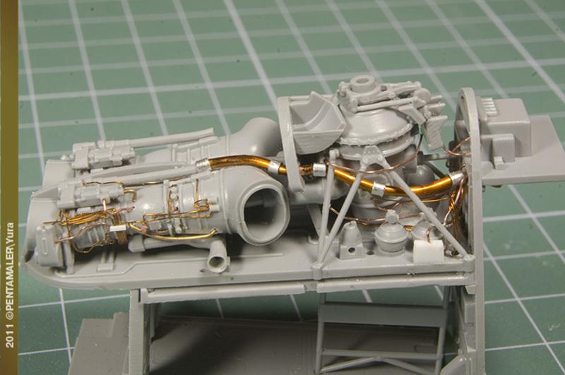 МИ-24В/ВП Звезда, сборка от БТТ шника YURA2562