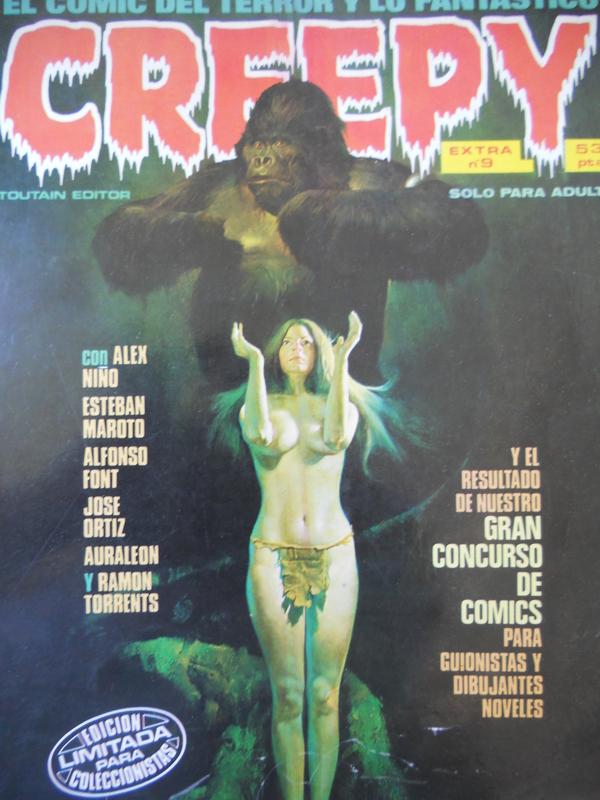 los amantes del comics de terror.................... 054