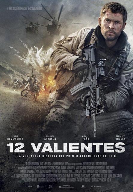12 valientes (2018) [Ver Online] [Descargar] [HD 1080p] [Español-Inglés] [Bélico] 12_strong-648560287-large