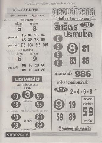 16 / 08 / 2558 MAGAZINE PAPER  - Page 3 Ruamajandang_6