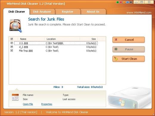 WinMend Disk Cleaner v2.0 Rtyhsfgh