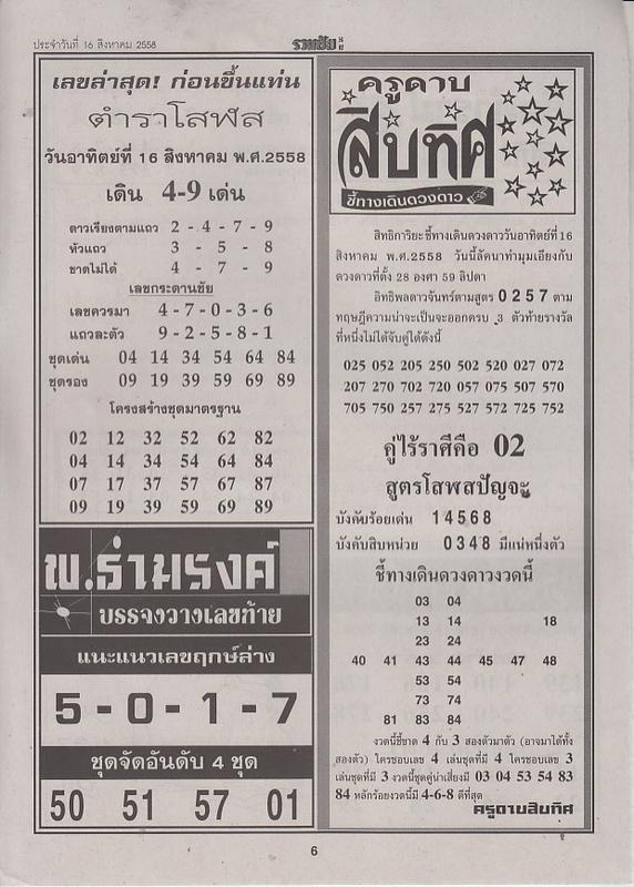16 / 08 / 2558 FIRST PAPER Ruamchai_6