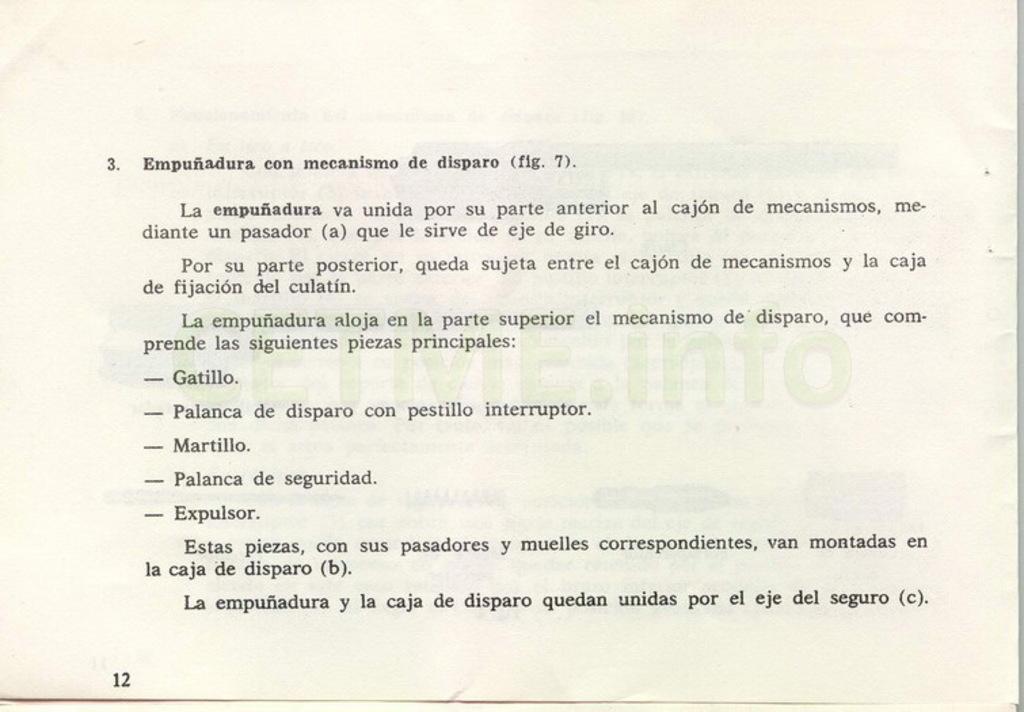 "Manual CETME C ""Santa Bárbara"" 1º Modelo. Manual_p12"
