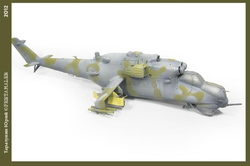 МИ-24В/ВП Звезда, сборка от БТТ шника - Страница 2 YURA7876