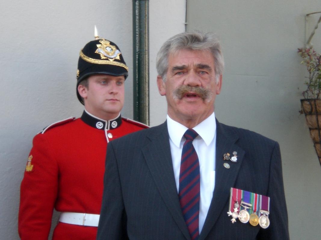 Private  William Cooper Event in Worthing Sussex CIMG3720