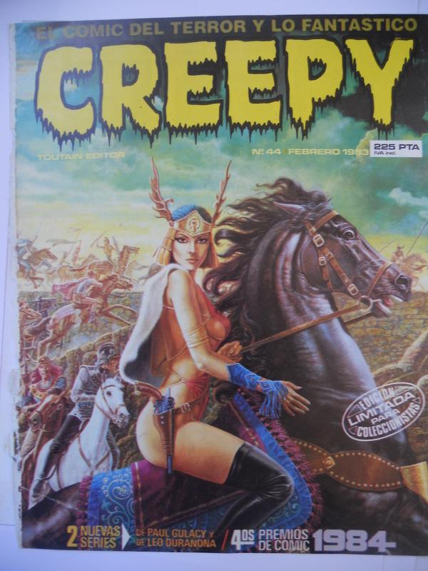 los amantes del comics de terror.................... 084