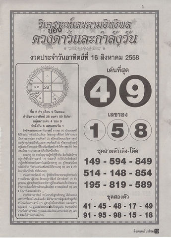 16 / 08 / 2558 MAGAZINE PAPER  - Page 2 Lottery_namchoke_3