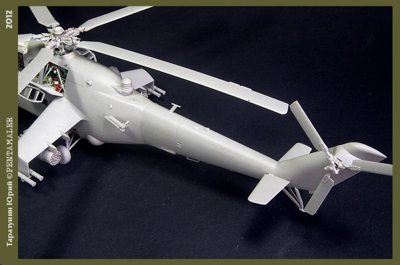 МИ-24В/ВП Звезда, сборка от БТТ шника YURA7803