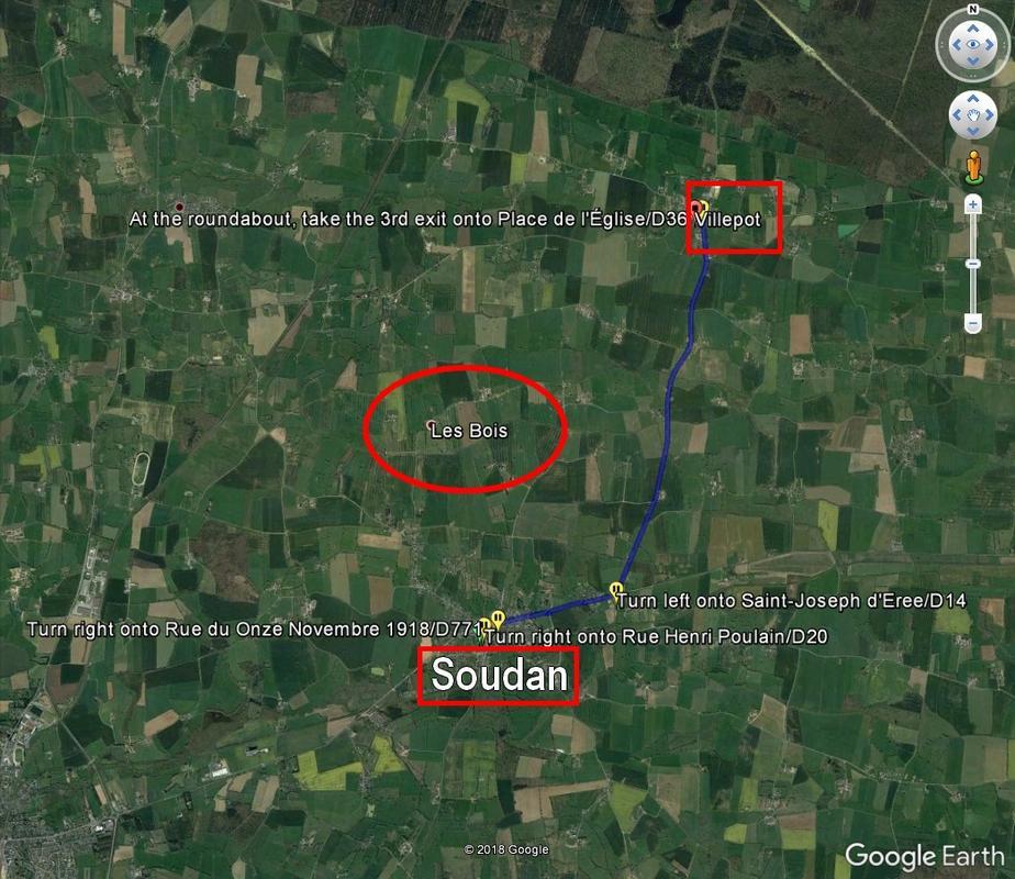 [résolu]Tracer un itinéraire, le sauver en KMZ [problème technique Google Earth] Question_trajet_1