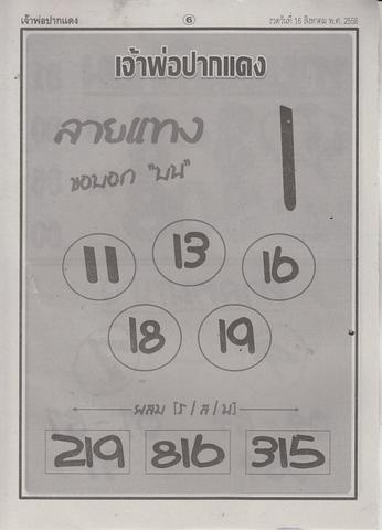 16 / 08 / 2558 MAGAZINE PAPER  Jaoporpakdang_6