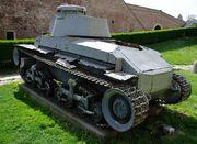 Немецкий легкий танк PzKpfw 35(t) (LT vz.35). Военный музей в замке Калемегдан, г.Белград SG201770