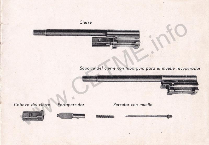 1956 - DESCRIPCION ABREVIADA DEL FUSIL DE ASALTO CETME - CETME A-2a  1956_CETME_A-2a_FORO_011
