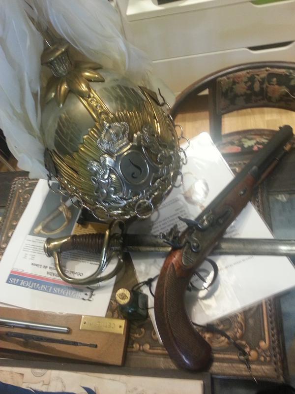 """casco - Casco Mod. 1875 de Oficial de Lanceros del Regimiento Nº1 """"del Rey"""". 20151122_130039"""