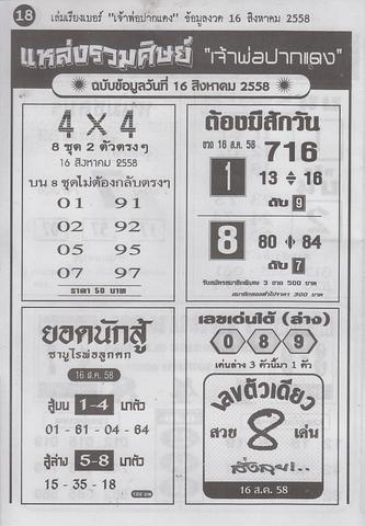 16 / 08 / 2558 MAGAZINE PAPER  Jaoporpakdang2_18