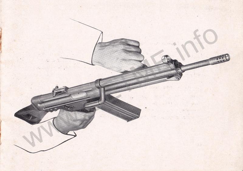 1956 - DESCRIPCION ABREVIADA DEL FUSIL DE ASALTO CETME - CETME A-2a  1956_CETME_A-2a_FORO_019