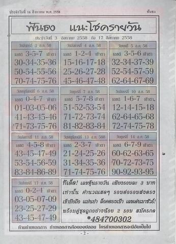 16 / 08 / 2558 MAGAZINE PAPER  Funthong_2
