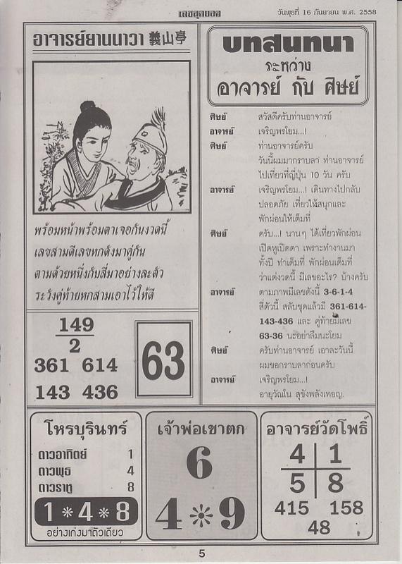 16 / 09 / 2558 FIRST PAPER . Leksudyod_5