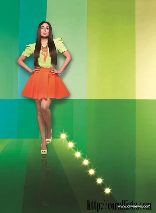 Kareena Kapoor Latest Photoshoot For Lakme Fashion Week Summer Resort Collection 2013 Image