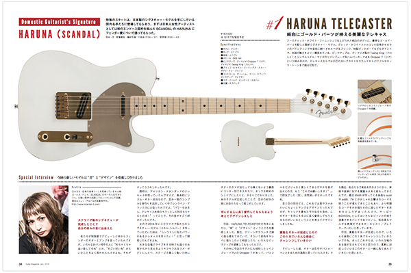 SCANDAL's Signature Fender Models 3117111009_IN03