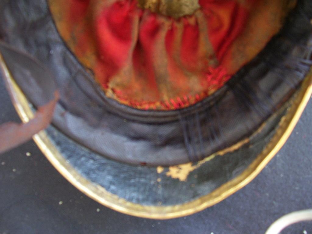 """casco - Casco Mod. 1875 de Oficial de Lanceros del Regimiento Nº1 """"del Rey"""". 100_2902"""