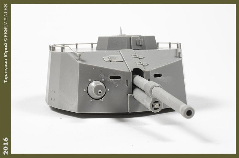 Советский артиллерийский бронированный вагон ПЛ-37, Trumpetеr, 1/35 PENT1384_1