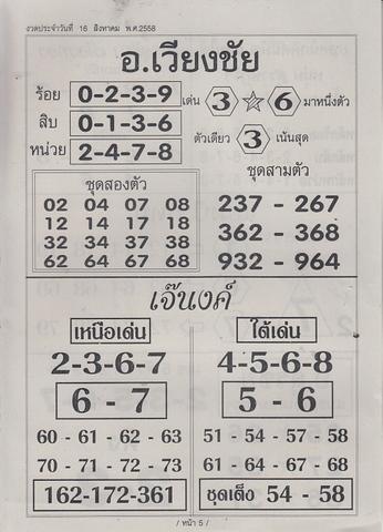 16 / 08 / 2558 MAGAZINE PAPER  - Page 4 Sornikom_5