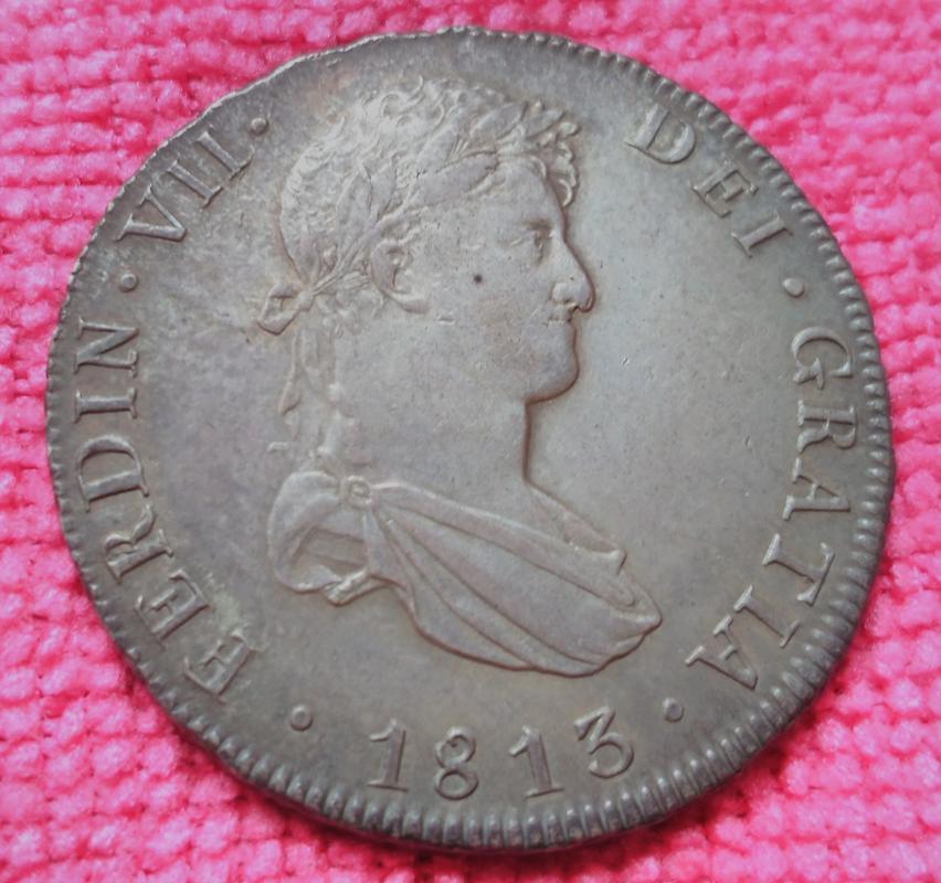 8 Reales Fernando VII. Potosí 1813·PJ IMG_20180610_164731