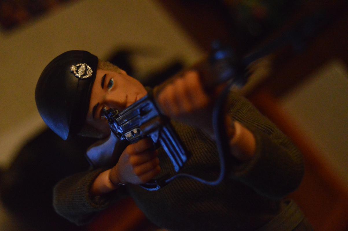 Georgie as a Basic Soldier DSC_0364
