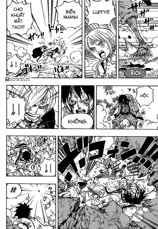 One Piece Chapter 844: Luffy vs. Sanji Image