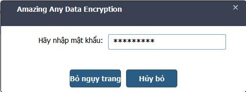 Any Data Encryption 5.1.1.8 Việt hóa - Mã hóa, ẩn folder/file tuyệt vời Encryption_6
