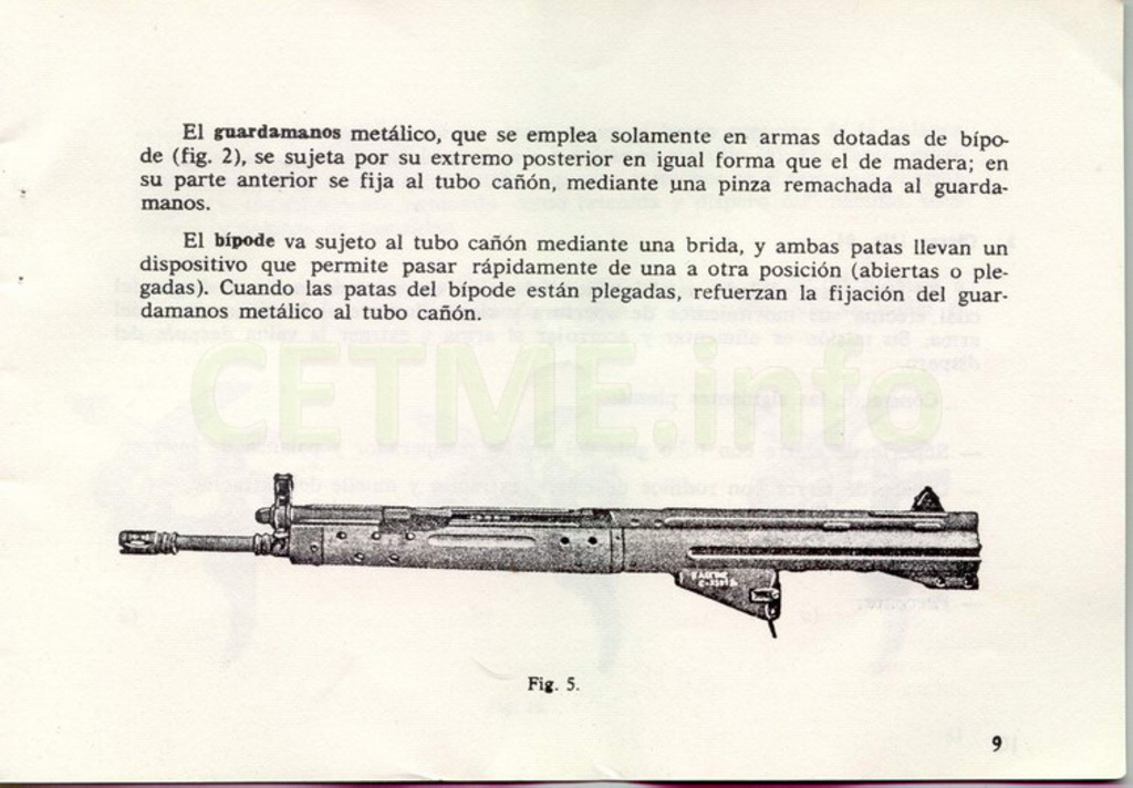 "Manual CETME C ""Santa Bárbara"" 1º Modelo. Manual_p09"