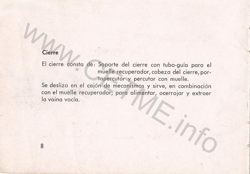 1956 - DESCRIPCION ABREVIADA DEL FUSIL DE ASALTO CETME - CETME A-2a  1956_CETME_A-2a_FORO_010