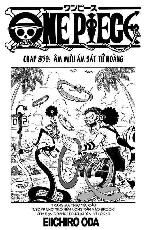 One Piece Chapter 859: Âm mưu ám sát Tứ Hoàng 01_copy