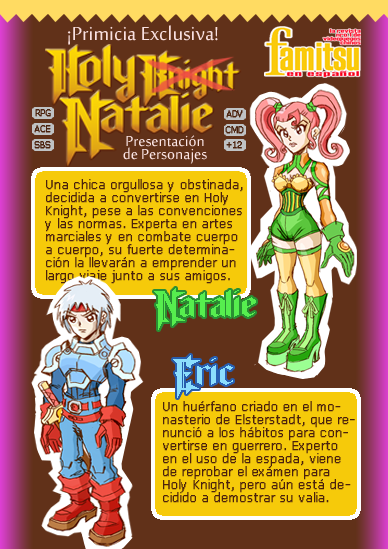 [Ace] Holy Knight Natalie (Presentación) Fami01
