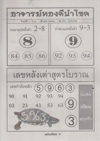 16 / 08 / 2558 MAGAZINE PAPER  - Page 3 Palangtean_7