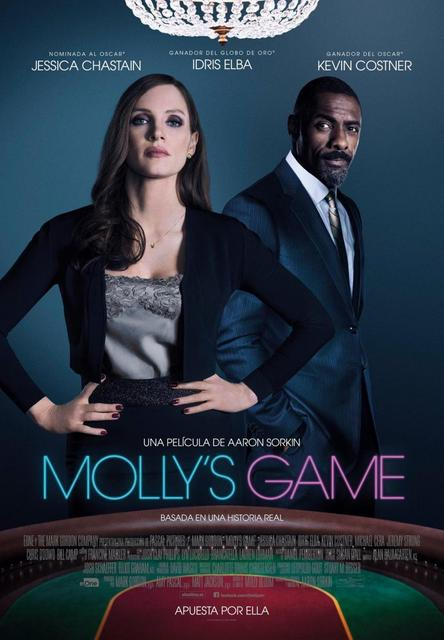 Molly's Game (2017) [Ver Online] [Descargar] [HD 1080p] [Spanish - English] [Drama] Molly_s_game-777505597-large