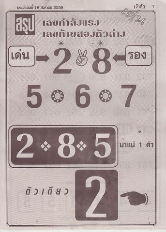 16 / 08 / 2558 MAGAZINE PAPER  Jaosure_7